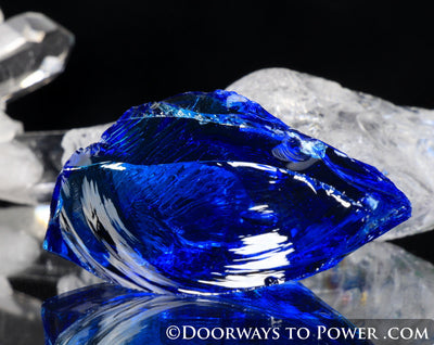 Electric Blue Atlantean Andara Crystal | Authentic Lady Nellie