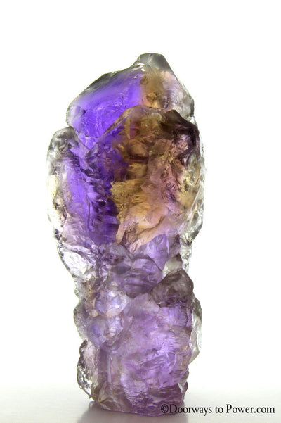 "Final Payment Pamela S - Ametrine Crystal Citrine & Amethyst w/ Record Keepers ""Museum Quality"""
