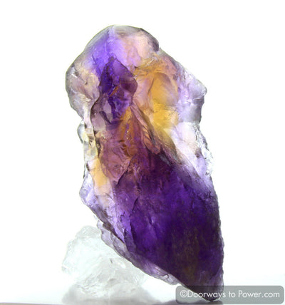 Ametrine Crystal with Pleiadian Starbrary & Record Keepers (Rare)