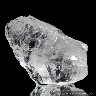 Satyaloka Clear Azeztulite Crystal | Azozeo Activated