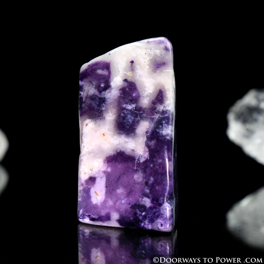 Violet Flame Opal Crystal Polished & Tumbled