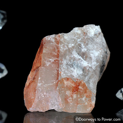 Pink Fire Azeztulite Crystal Azozeo Super Activated