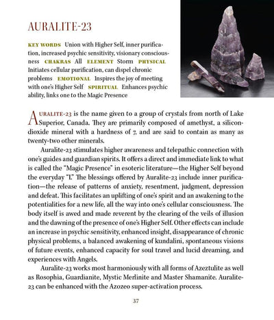 Auralite 23 Metaphysical Properties