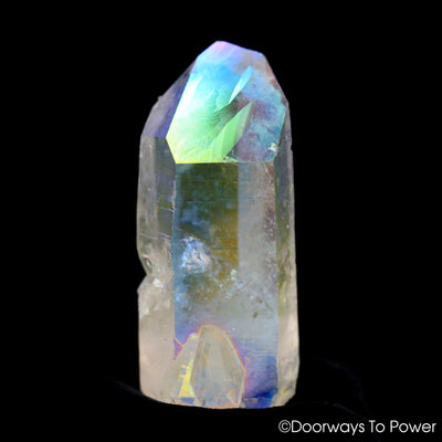 Angel Aura Lemurian Seed Quartz Master Record Keeper ET Crystal