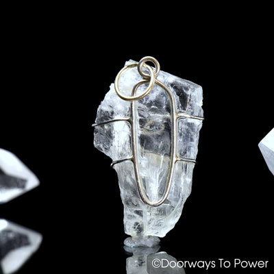 Petalite Crystal Pendant .925 SS Synergy 12 & Ascension 7 Stone