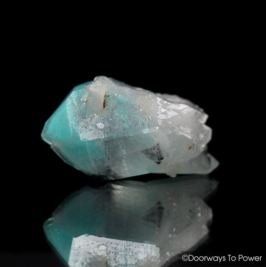 Ajoite Phantom Quartz Crystal Messina, South Africa