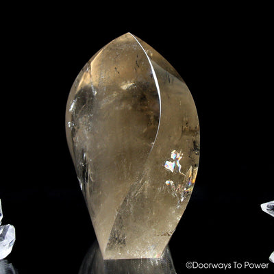 John of God Citrine Casa Crystal Abundance Stone