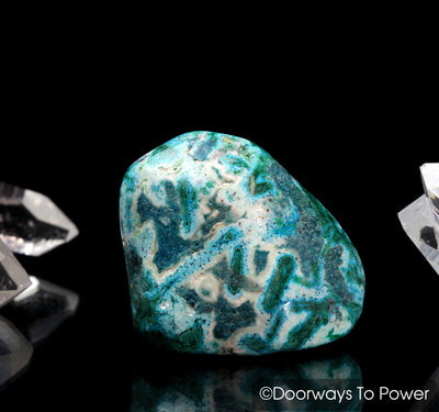 Malachite & Chrysocolla Polished & Tumbled Stone Crystal