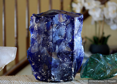 Tanzanite Fire Monatomic Andara Crystal Sculpture
