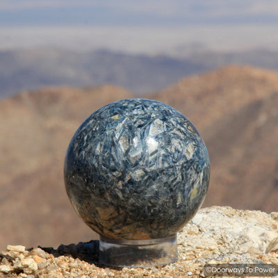 Blue Kyanite Crystal Sphere