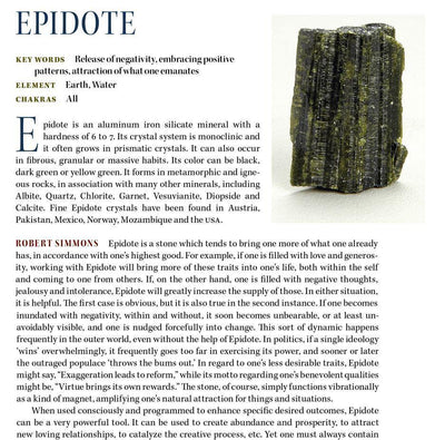 Epidote Metaphysical Properties