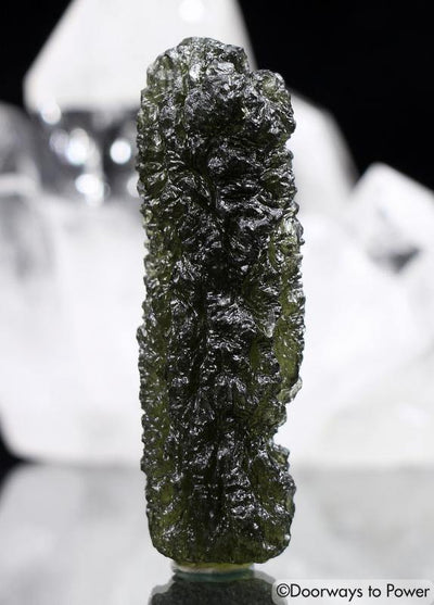 Moldavite Heaven and Earth Jewelry