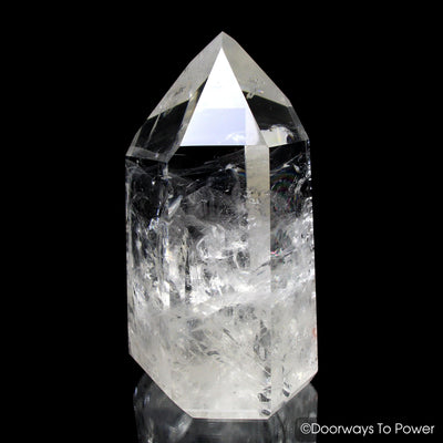 John of God Quartz Casa Crystal Point & Master Dow
