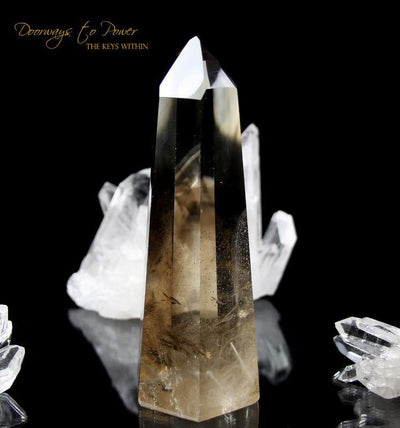 Citrine Smoky Phantom Quartz Master Dow Crystal