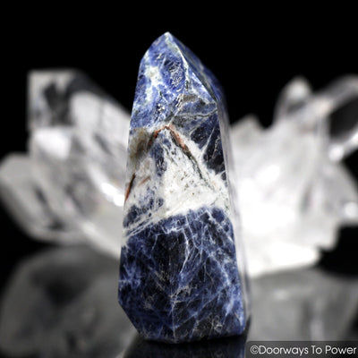 John of God Quartz Sodalite Master Dow Crystal