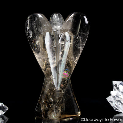 John of God Quartz Crystal Angel
