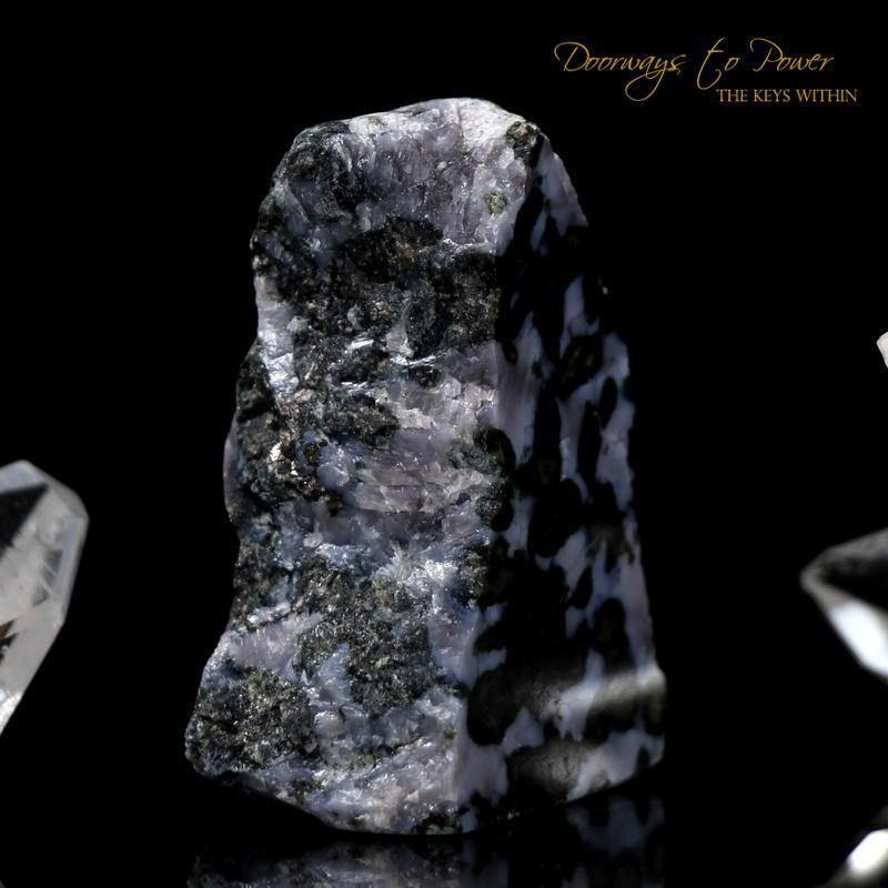 Mystic Merlinite Crystal Altar Stone