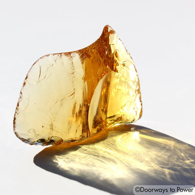 Lemurian Amber Andara Crystal 'Light Transmuted into Life'