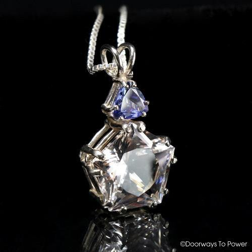 Danburite & Tanzanite Star of Venus Pendant