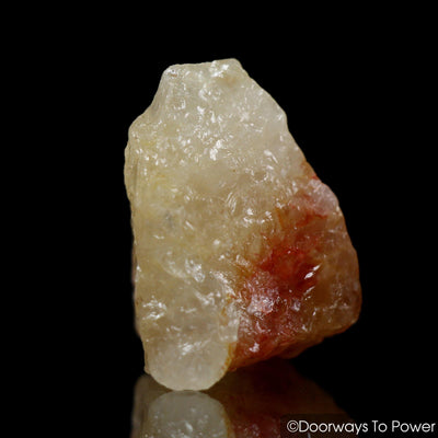 Himalaya Red Gold Azeztulite Crystal Tumbled Stone