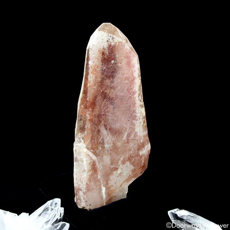 Scarlet Temple Rosetta Stone Cassiopeia Starbary Lightning Struck Lemurian Crystal