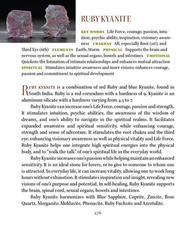 Ruby metaphysical Properties