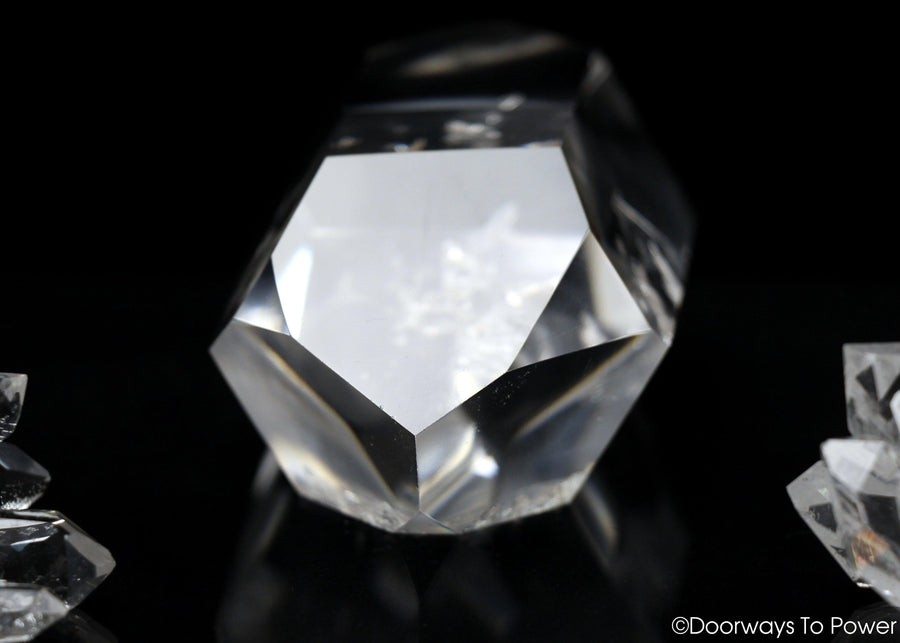 John of God Quartz Double Terminated Double Dow Crystal
