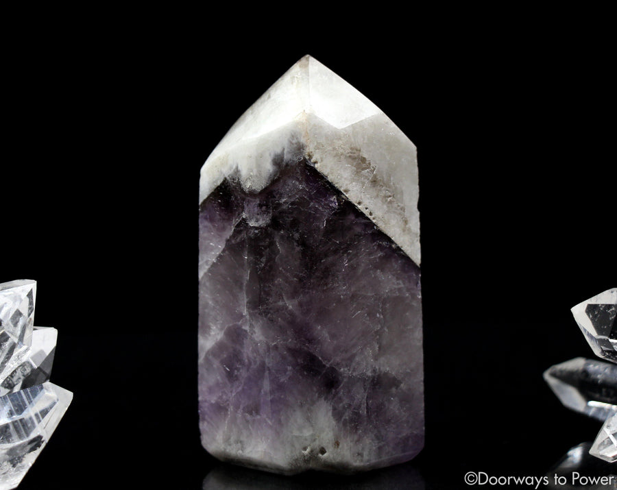 Amazez Azeztulite Quartz Crystal Point Azozeo Activated
