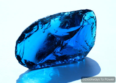 Electric Blue Atlantean Monatomic Andara Crystal 'Pleiadian Emissaries of the Light'