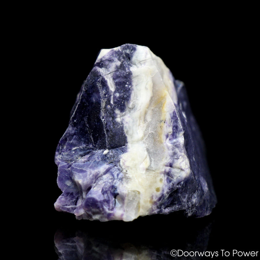 Violet Flame Opal Crystal Raw Natural