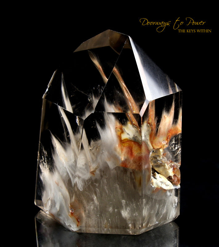 Angel Phantom Amphibole Manifestation Quartz Crystal