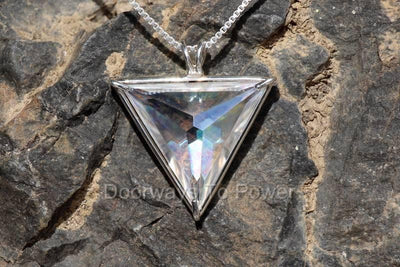 Angel Aura Angelic Star Crystal Pendant .925 SS