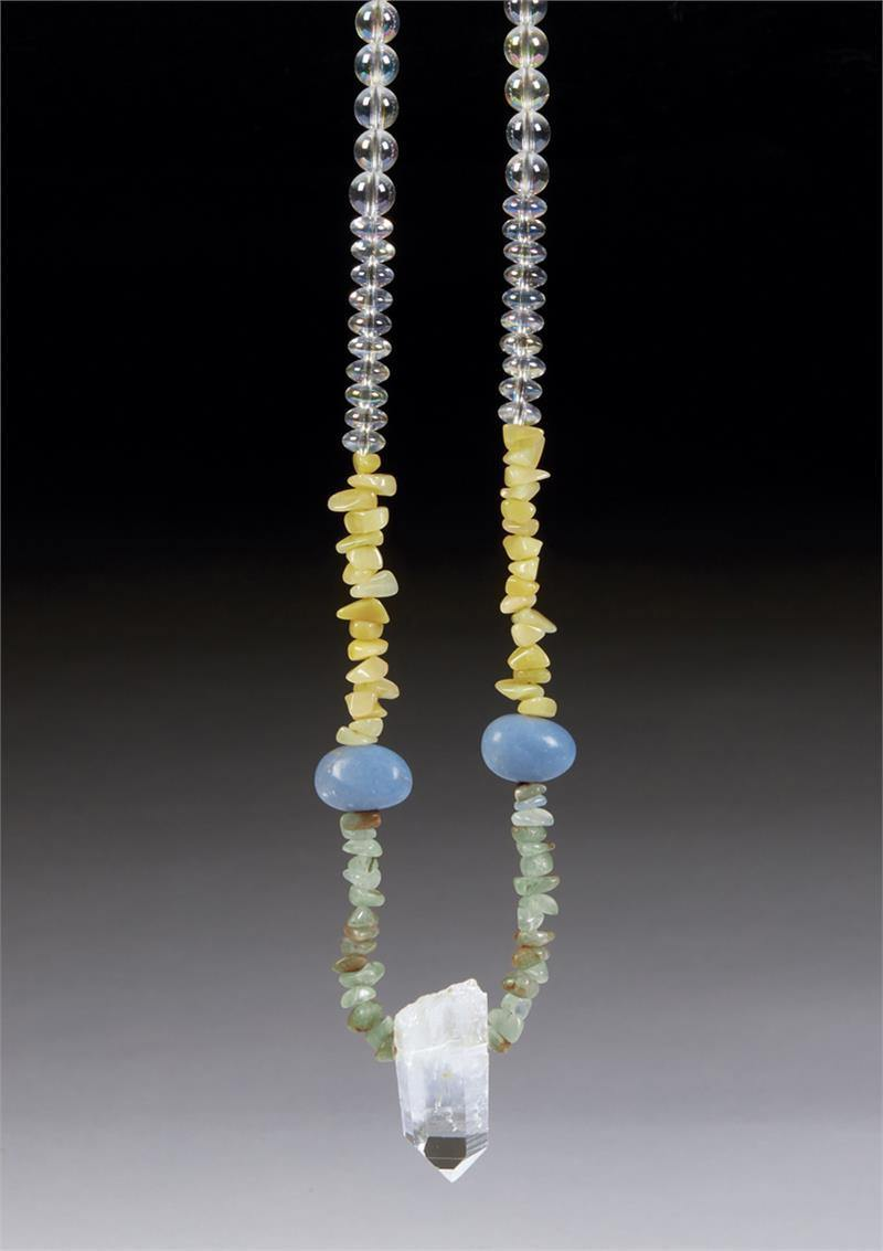 Lemurian Crystal Necklace