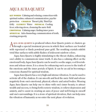 Aqua Aura Properties meanings