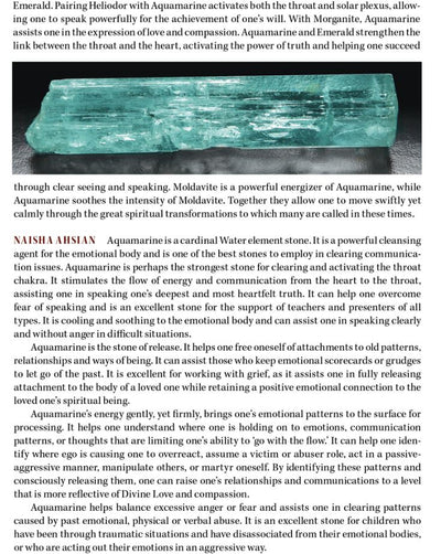 Aquamarine Metaphysical Properties