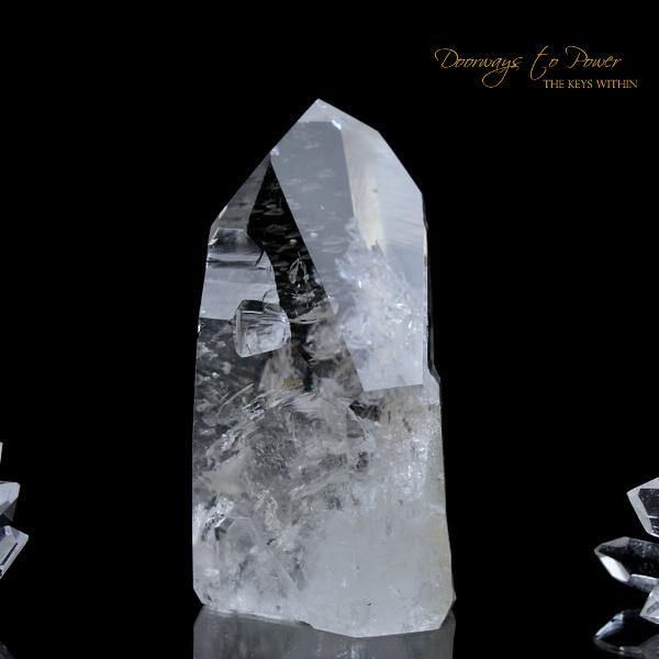 Azozeo Lemurian Light Record Keeper Crystal