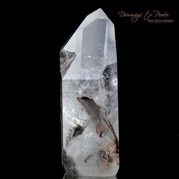 Brookite Manifestation Quartz Point