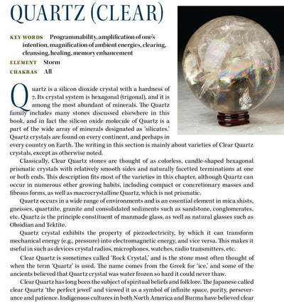 Clear Quartz Properties