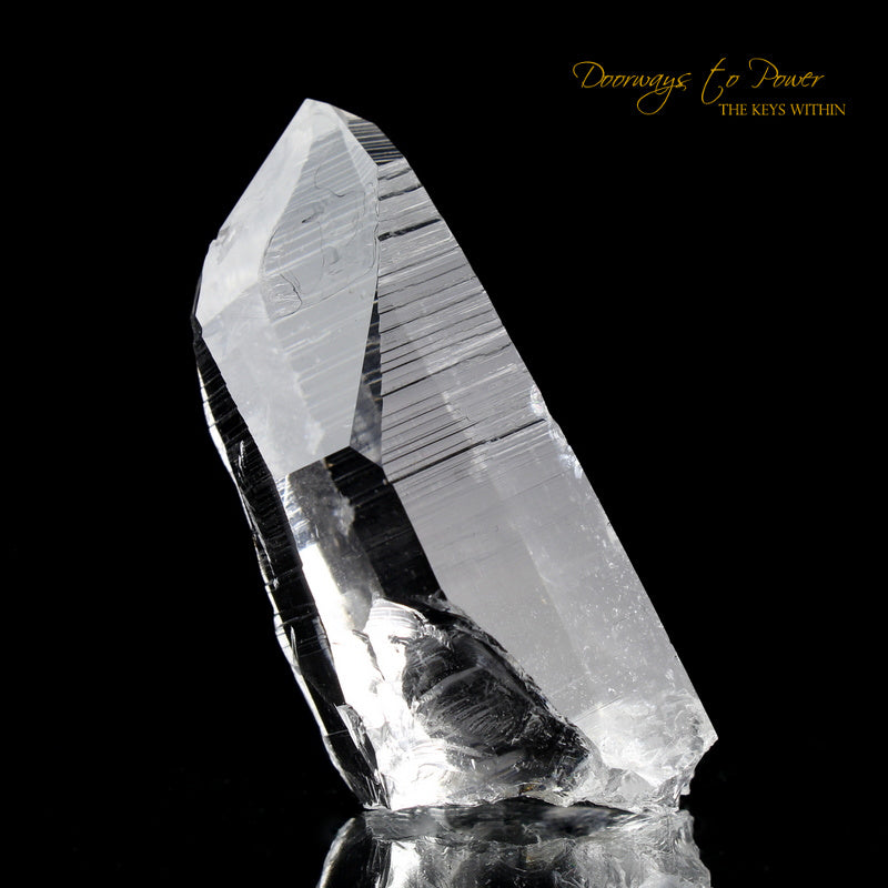 Colombian Lemurian Light Quartz Crystal
