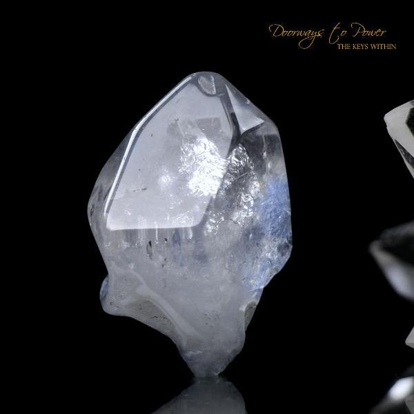 Dumortierite Quartz Crystal