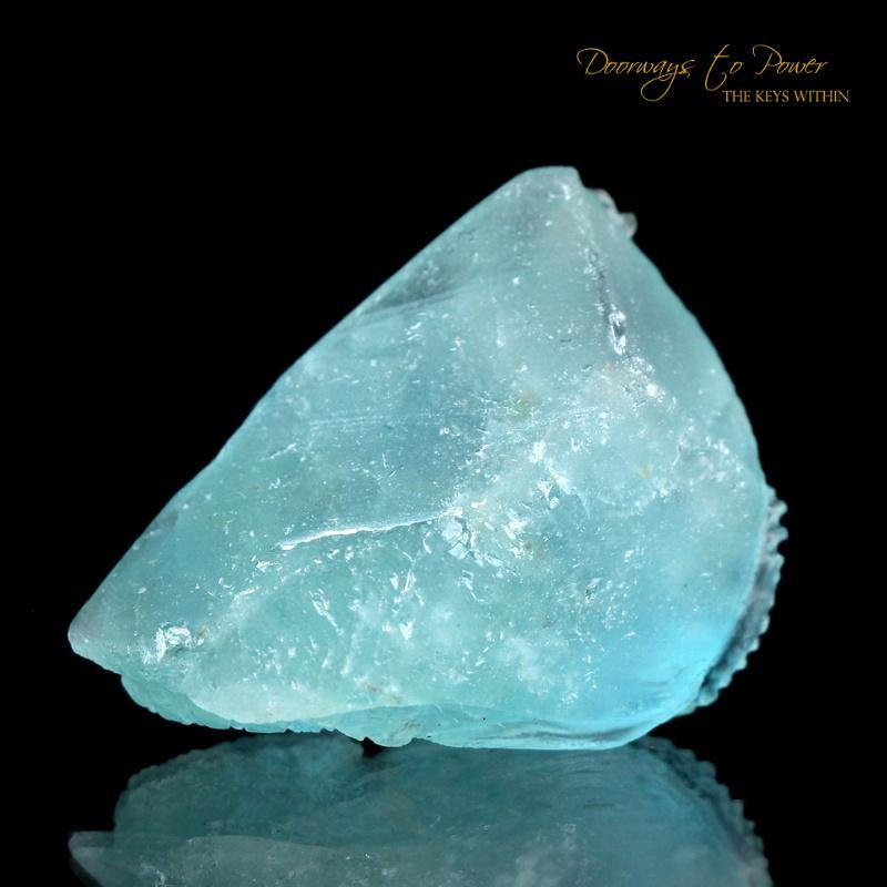 Aquamarine Dragon Crystal Carving 'Museum Quality'