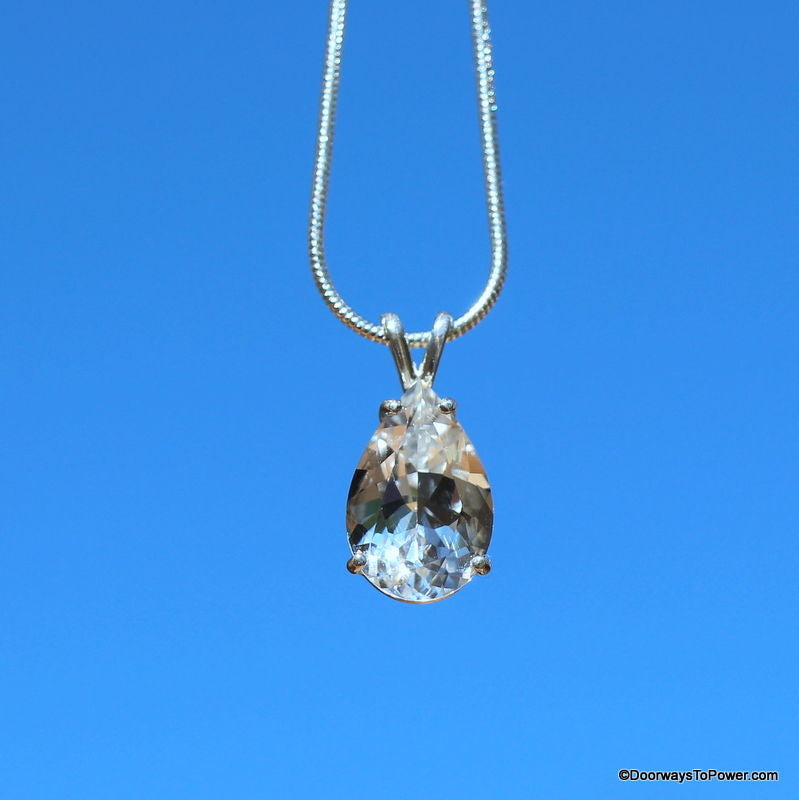 John of god blessed crystals pendants experience the difference john of god casa crystal tear drop pendant aloadofball Choice Image