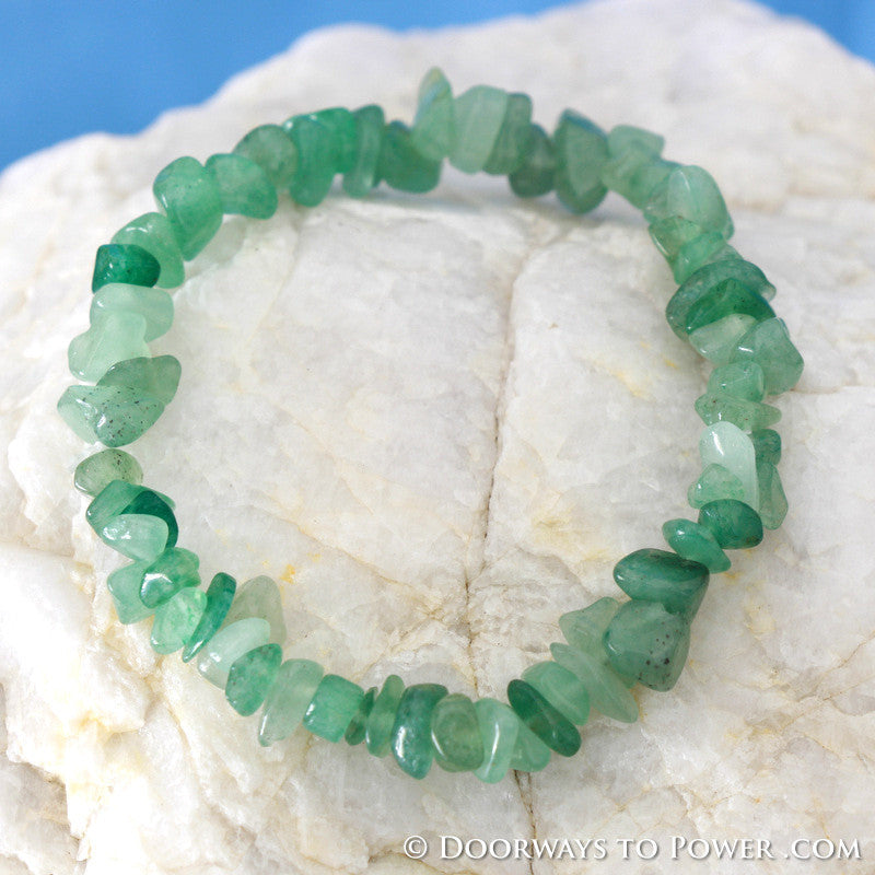 Green Aventurine Energy Bracelet Blessed & Energized