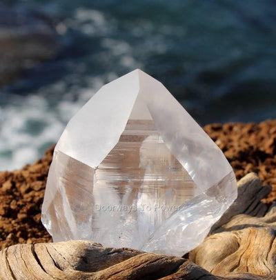 Lemurian Light Record keeper Channeling Quartz Crystal