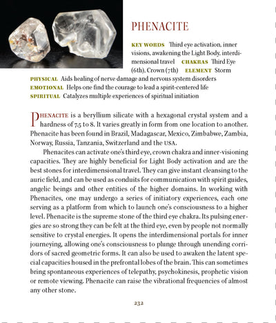Phenacite Metaphysical Properties