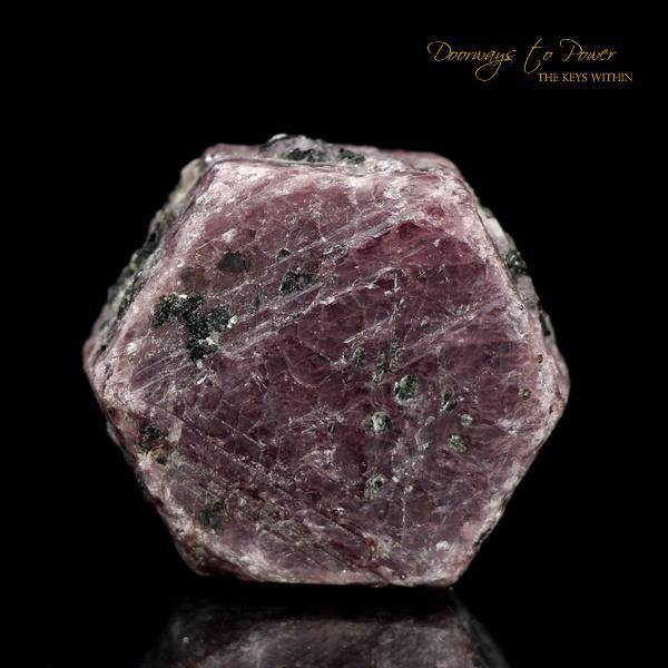 Red Ruby Corundum Record Keeper Crystal