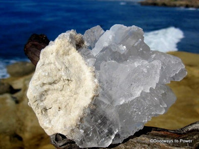 Selenite Crystal Activation Cluster