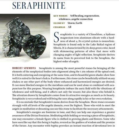 Seraphinite Metaphysical Properties