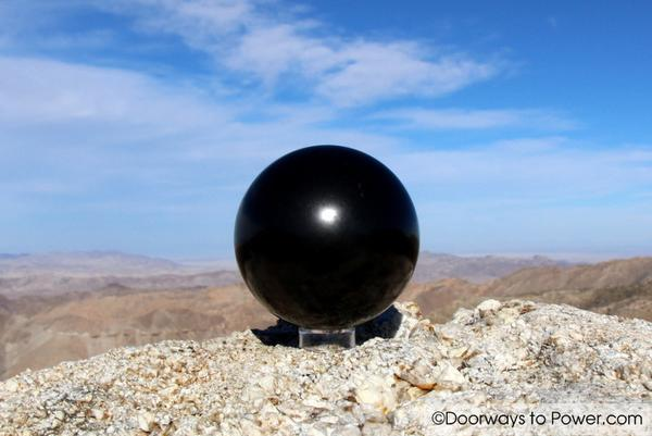 Mystical Shungite Crystal Sphere