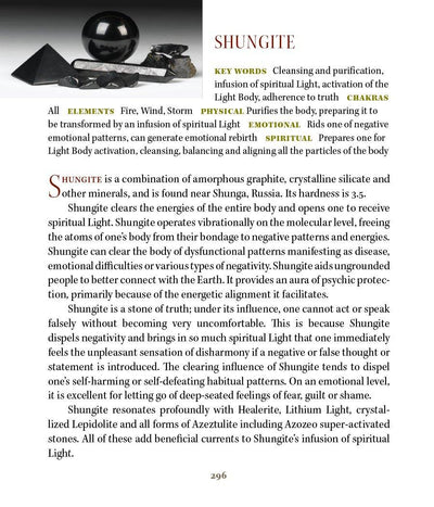 Shungite Metaphysical Properties